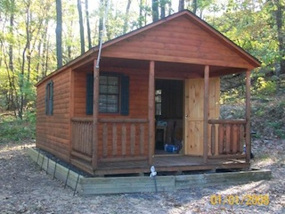 12X 24 CABIN FOR WEEKENDS OR CHEAP LIVING