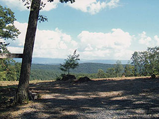 50-MILE VIEWS ACROSS THE SHENANDOAH VALLEY