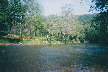 ACCESS TO CACAPON RIVER TO FISH, SWIM, CANOE