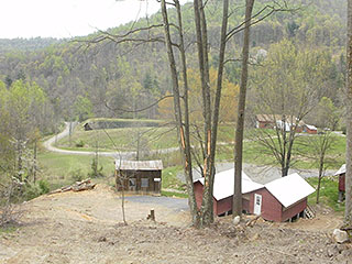 BUILD A HOME OR CABINS IN QUIET WEST VA MOUNTAINS