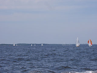 SAILBOATING, WATERSKIING FROM YOUR SHORELINE