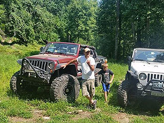 VISIT ADJ. OFF-ROAD PARK TO FUN RIDE IN JEEPS, ATVs