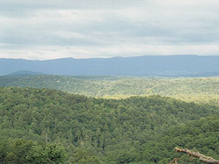 WEST VIEWS FROM 1,800 FT. SWEEP FAR INTO W. VA