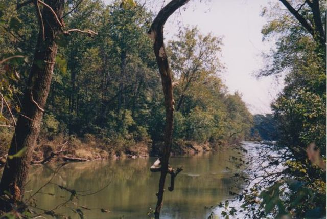 1200 FT. WIDE RIVER WITH 6 FT. DEPTH FOR SWIMMING, FISHING